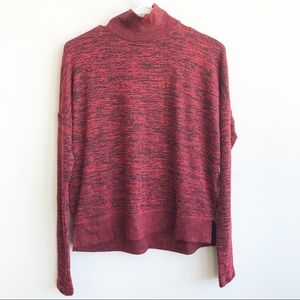 (NWT) rag & bone Bowery Turtle Neck Sweater Marled